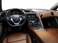 2018 Chevrolet Corvette Coupe Stingray 3LT | Photo 2 | Kalahari GT buckets Perforated Napa leather seating surfaces (345-AQ9)