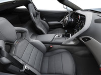 2018 Chevrolet Corvette Coupe Stingray 3LT | Photo 1 | Grey Competition Sport buckets Leather seating surfaces with sueded microfiber inserts (146-AE4)