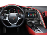 2018 Chevrolet Corvette Coupe Stingray 3LT | Photo 3 | Adrenaline Red Competition Sport buckets Perforated Mulan leather seating surfaces (705-AE4)