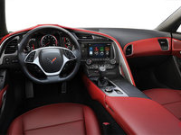 2018 Chevrolet Corvette Coupe Stingray 3LT | Photo 2 | Adrenaline Red Competition Sport buckets Perforated Mulan leather seating surfaces (705-AE4)