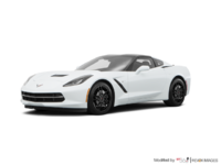 2018 Chevrolet Corvette Coupe Stingray Z51 1LT | Photo 3 | Arctic White
