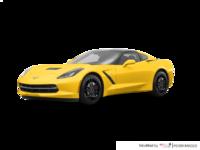 2018 Chevrolet Corvette Coupe Stingray Z51 1LT | Photo 3 | Corvette Racing Yellow Tintcoat
