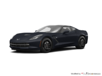 2018 Chevrolet Corvette Coupe Stingray Z51 1LT | Photo 3 | Watkins Glen Grey Metallic