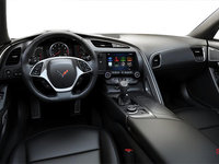 2018 Chevrolet Corvette Coupe Stingray Z51 1LT | Photo 2 | Jet Black GT buckets Perforated Mulan leather seating surfaces (191-AQ9)