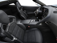 2018 Chevrolet Corvette Coupe Stingray Z51 1LT | Photo 1 | Jet Black Competition Sport buckets Leather seating surfaces with sueded microfiber inserts (192-AE4)