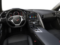 2018 Chevrolet Corvette Coupe Stingray Z51 1LT | Photo 2 | Jet Black Competition Sport buckets Leather seating surfaces with sueded microfiber inserts (192-AE4)