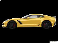 2018 Chevrolet Corvette Coupe Z06 1LZ   Photo 1   Corvette Racing Yellow Tintcoat