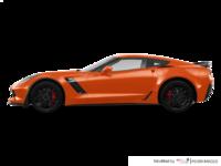 2018 Chevrolet Corvette Coupe Z06 1LZ   Photo 1   Sebring Orange Tintcoat