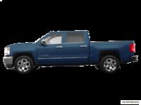 2018 Chevrolet Silverado 1500 LTZ 1LZ   Photo 1   Deep Ocean Blue Metallic