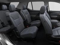 2018 Chevrolet Traverse PREMIER   Photo 2   Jet black/dark galvanized perforated leather