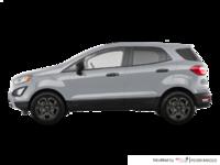 2018 Ford Ecosport S   Photo 1   Moondust Silver