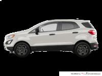 2018 Ford Ecosport S   Photo 1   Diamond White