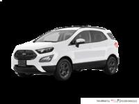 2018 Ford Ecosport SES   Photo 3   White Platinum Metallic