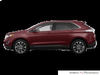 2018 Ford Edge TITANIUM   Photo 1   Burgundy Velvet Metallic Tinted Clearcoat