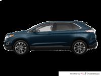 2018 Ford Edge TITANIUM   Photo 1   blue metallic