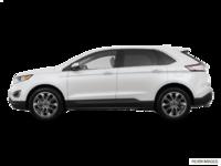 2018 Ford Edge TITANIUM   Photo 1   White Platinum Metallic Tri-Coat