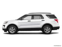 2018 Ford Explorer BASE | Photo 1 | Oxford White
