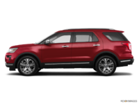 2018 Ford Explorer PLATINUM | Photo 1 | Ruby Red Metallic