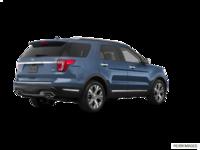 2018 Ford Explorer PLATINUM | Photo 2 | blue metallic