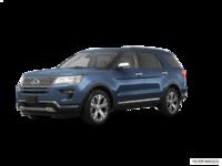 2018 Ford Explorer PLATINUM | Photo 3 | blue metallic