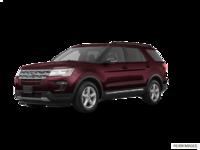 2018 Ford Explorer XLT | Photo 3 | Burgundy Velvet Metallic
