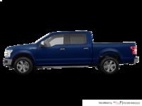 2018 Ford F-150 LARIAT   Photo 1   Blue Jeans Metallic