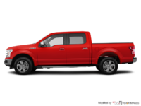2018 Ford F-150 LARIAT   Photo 1   Race Red