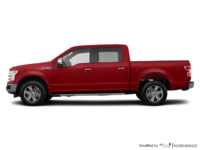 2018 Ford F-150 LARIAT   Photo 1   Ruby Red Metallic