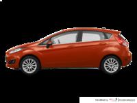 2018 Ford Fiesta Hatchback TITANIUM | Photo 1 | Hot Pepper Red