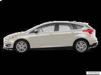 2018 Ford Focus Hatchback TITANIUM | Photo 1 | White Gold