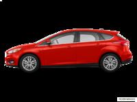 2018 Ford Focus Hatchback TITANIUM | Photo 1 | Hot Pepper Red Metallic