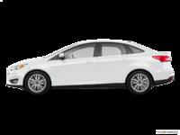 2018 Ford Focus Sedan TITANIUM | Photo 1 | White Platinum Metallic