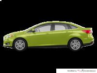 2018 Ford Focus Sedan TITANIUM | Photo 1 | Outrageous Green Metallic