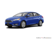 2018 Ford Focus Sedan TITANIUM | Photo 3 | Lightning Blue