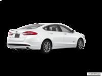 2018 Ford Fusion Energi TITANIUM | Photo 2 | White Platinum