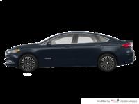 2018 Ford Fusion Hybrid PLATINUM | Photo 1 | Blue Metallic