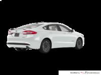 2018 Ford Fusion Hybrid PLATINUM | Photo 2 | White Platinum
