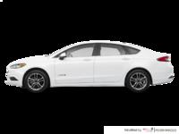 2018 Ford Fusion Hybrid SE   Photo 1   Oxford White