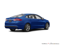 2018 Ford Fusion Hybrid SE   Photo 2   Lightning Blue