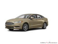 2018 Ford Fusion Hybrid SE   Photo 3   White Gold