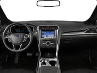 2018 Ford Fusion Hybrid TITANIUM   Photo 3   Ebony Leather (CT)