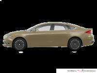 2018 Ford Fusion TITANIUM | Photo 1 | White Gold