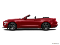 2018 Ford Mustang Convertible EcoBoost | Photo 1 | Ruby Red Metallic Tinted Clearcoat