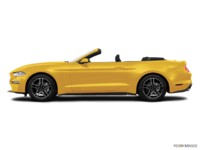 2018 Ford Mustang Convertible EcoBoost | Photo 1 | Triple Yellow Tri-Coat