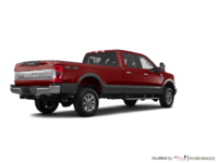 2018 Ford Super Duty F-250 KING RANCH   Photo 2   Magma Red/Stone Grey