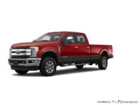 2018 Ford Super Duty F-250 KING RANCH   Photo 3   Ruby Red/Stone Grey
