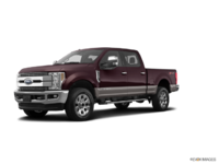 2018 Ford Super Duty F-250 LARIAT | Photo 3 | Magma Red/Stone Grey