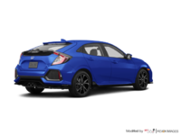 2018 Honda Civic hatchback SPORT HONDA SENSING | Photo 2 | Aegean Blue Metallic