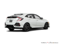 2018 Honda Civic hatchback SPORT HONDA SENSING | Photo 2 | White Orchid Pearl