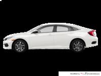 2018 Honda Civic Sedan SE | Photo 1 | Taffeta White
